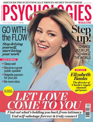 Psychologies Magazine December 2019