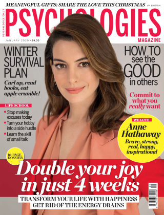 Psychologies Magazine January 2020