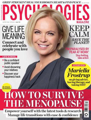 Psychologies Magazine Spring 2020