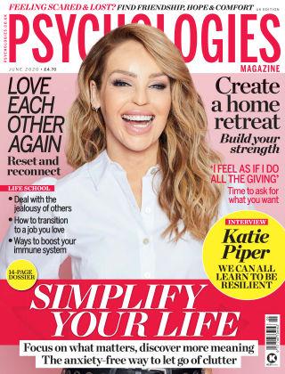 Psychologies Magazine June 2020