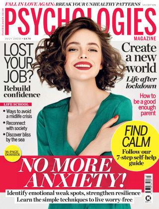 Psychologies Magazine July 2020