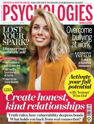Psychologies Magazine November 2020
