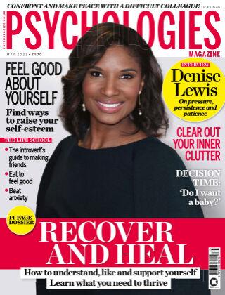 Psychologies Magazine May 2021