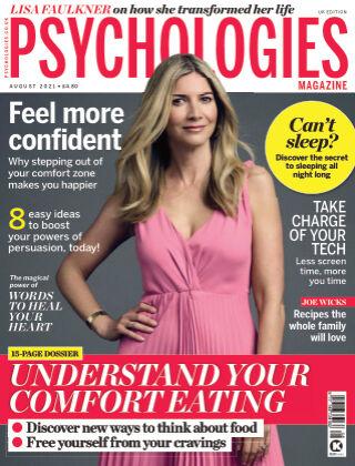 Psychologies Magazine August 2021