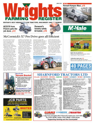 Wrights Farming Register June 2016