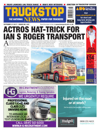 Truckstop News 405
