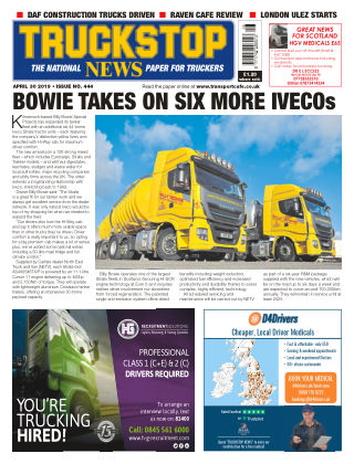 Truckstop News Issue 444