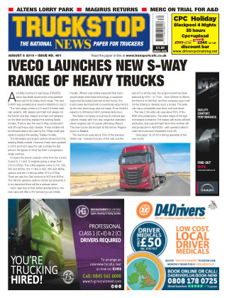 Truckstop News Issue 451