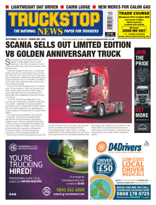 Truckstop News Issue 456