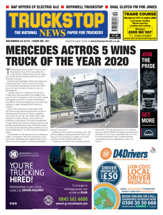 Truckstop News Issue 461