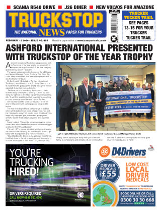 Truckstop News Issue 465