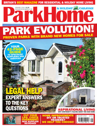 Park Home & Holiday Caravan January 2018