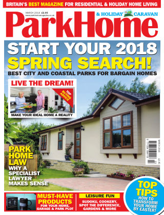Park Home & Holiday Caravan March 2018