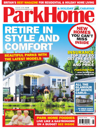 Park Home & Holiday Caravan August 18