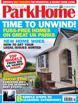 Park Home & Holiday Caravan October 2018