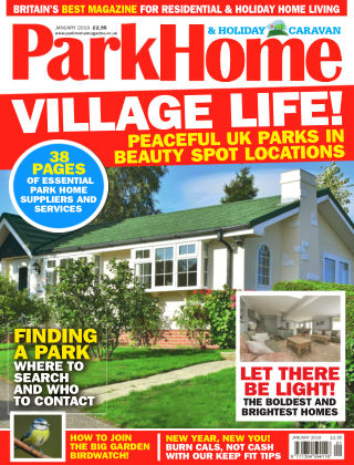 Park Home & Holiday Caravan January 2019