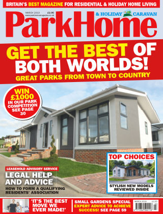Park Home & Holiday Caravan March 2019