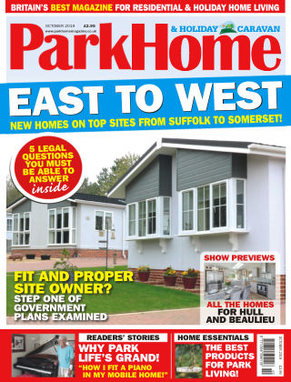 Park Home & Holiday Caravan October 2019