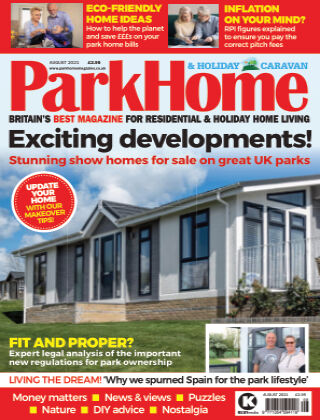 Park Home & Holiday Caravan August 2021