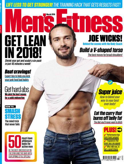 Men's Fitness January 24, 2018 00:00