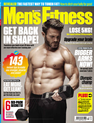 Men's Fitness April18