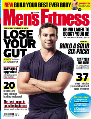 Men's Fitness June18