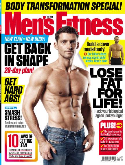 Men's Fitness December 12, 2018 00:00