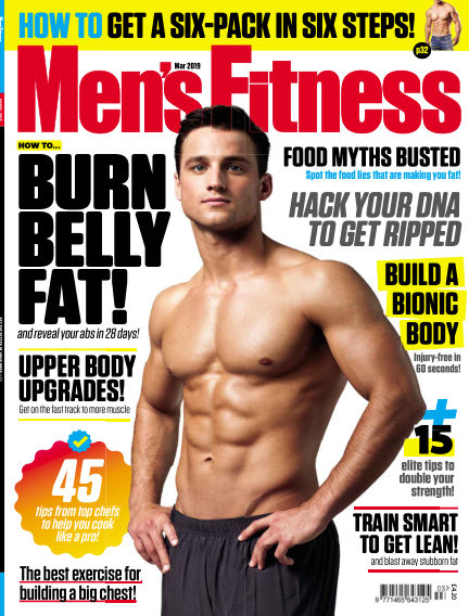 Men's Fitness January 23, 2018 00:00