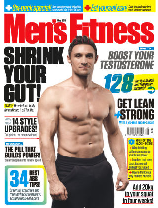 Men's Fitness May 2019