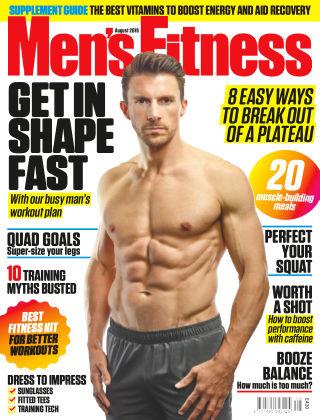 Men's Fitness August 2019