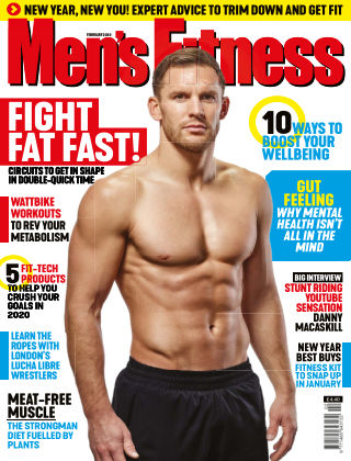 Men's Fitness February 2020