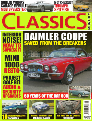 Classics Monthly September 18