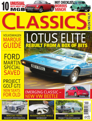 Classics Monthly October 2018