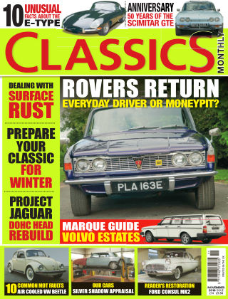 Classics Monthly November 18
