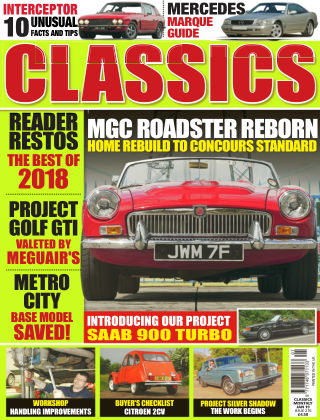 Classics Monthly January 2019