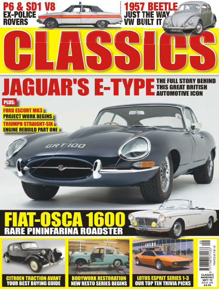 Classics Monthly August 07, 2019 00:00