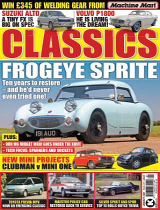 Classics Monthly January 2021
