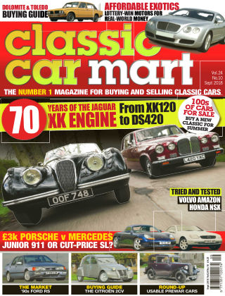 Classic Car Mart September 18