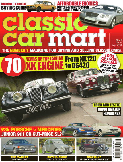Classic Car Mart July 27, 2018 00:00