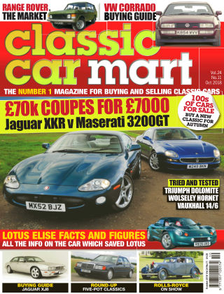 Classic Car Mart October 18