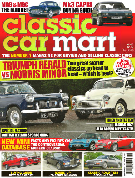 Classic Car Mart September 24, 2018 00:00
