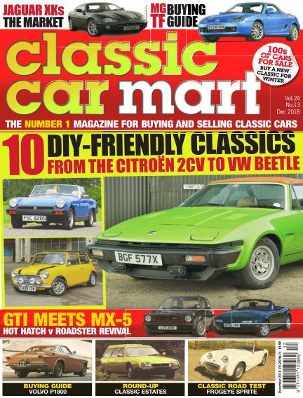Classic Car Mart October 18, 2018 00:00
