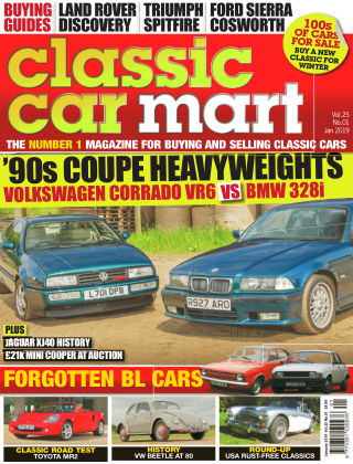 Classic Car Mart January 2019