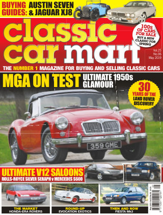 Classic Car Mart May 2019