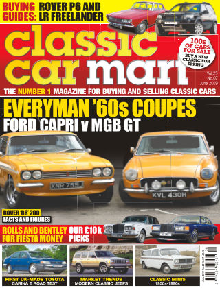 Classic Car Mart June 2019