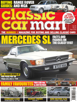 Classic Car Mart September 2019