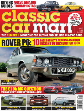 Classic Car Mart January 2020