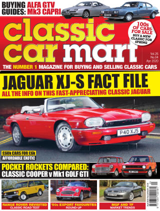 Classic Car Mart April 2020