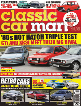 Classic Car Mart January 2021