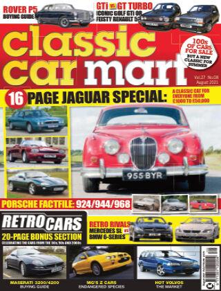 Classic Car Mart August 2021